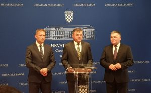 HSS | Zastupnici HSS-a | Konferencija za medije aktualna politička situacija