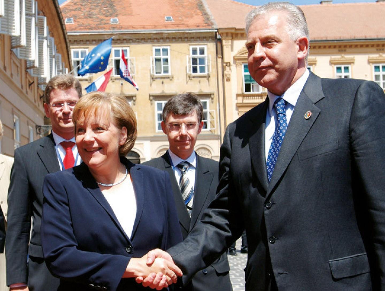 Merkel - Sanader