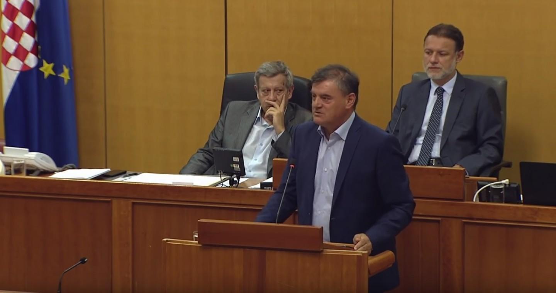 HSS   Davor Vlaović   Zakon o meteorološkoj i hidrološkoj djelatnosti
