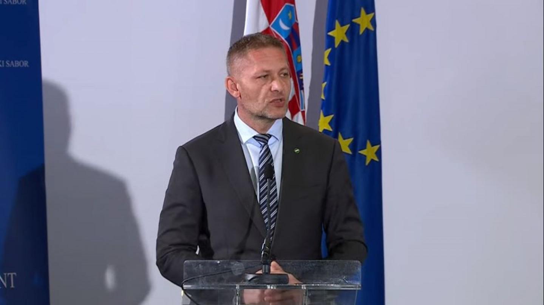 HSS | Krešo Beljak | Saborska sjednica u Šubićevoj