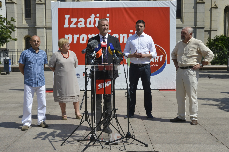 HSS | Krešo Beljak | RESTART koalicija konferencija za medije Zagreb