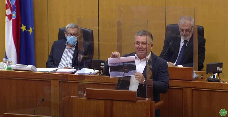 HSS   Hrvatski sabor   Željko Lenart   Spalionica u Kutini