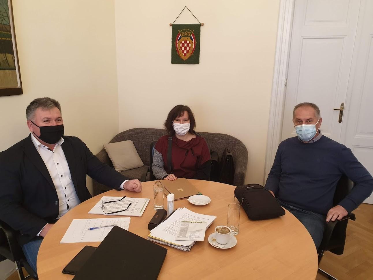 HSS   Željko Lenart   Sastanak inicijativa Sjeme je naše ljudsko pravo