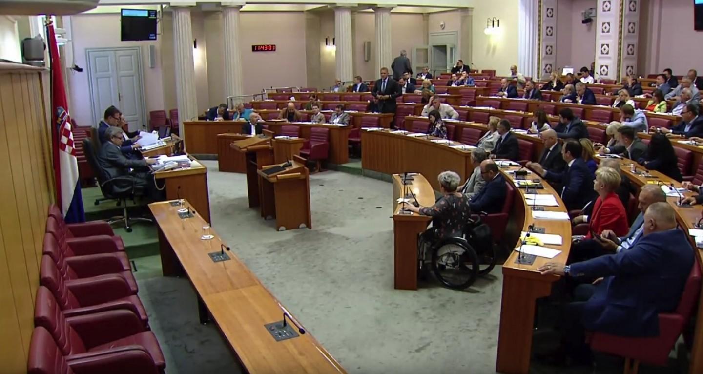 HSS   Krešo Beljak u sabornici