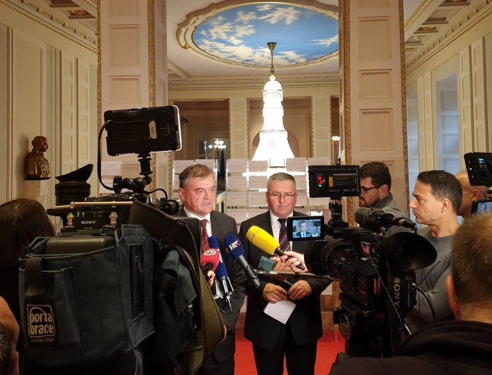 HSS   Klub zastupnika HSS-a   Davor Vlaović i Željko Lenart